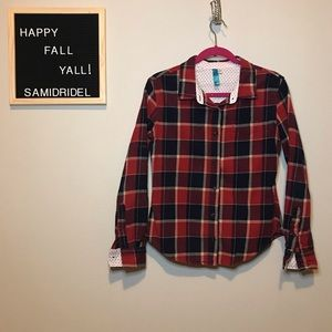 FRANCESCAS RED FLANNEL🍁